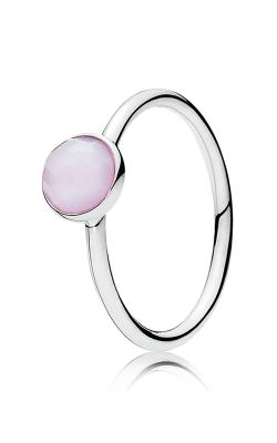 PANDORA October Droplet Opalescent Pink Crystal 191012NOP-58 (Retired) product image