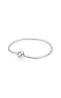 PANDORA Smooth Silver Clasp Bracelet 590728-18 product image