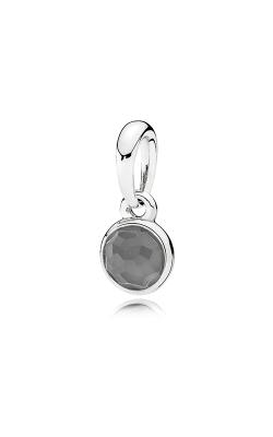 PANDORA June Droplet Grey Moonstone Pendant 390396MSG (Retired) product image