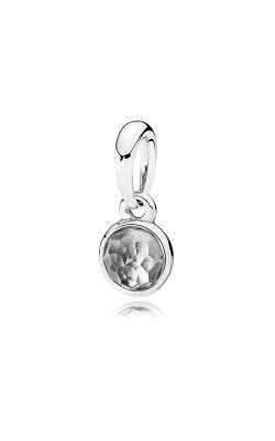 PANDORA April Droplet Rock Crystal Pendant 390396RC (Retired) product image