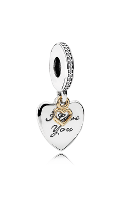 Pandora Love You Forever Dangle Charm Clear CZ 792042CZ product image