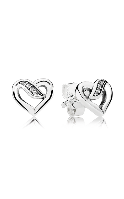 Pandora Dreams Of Love Clear CZ Earrings 290736CZ product image