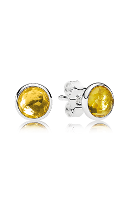 PANDORA November Droplets Citrine Earrings 290738CI (Retired) product image