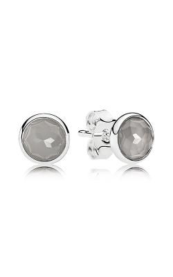 PANDORA June Droplets Grey Moonstone Earrings 290738MSG (Retired) product image