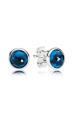 PANDORA December Droplets London Blue Crystal Earrings 290738NLB (Retired) product image