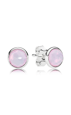 PANDORA October Droplets Opalescent Pink Crystal Earrings 290738NOP product image