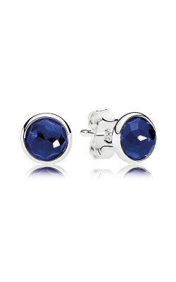 PANDORA September Droplets, Synthetic Sapphire Earrings 290738SSA product image