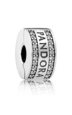 Pandora Logo Clear CZ Charm 792056CZ product image