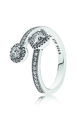 PANDORA Abstract Elegance Clear CZ Ring 191031CZ-48 product image