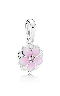 Pandora Magnolia Bloom Charm Pale Cerise Enamel & Pink CZ 792086PCZ product image
