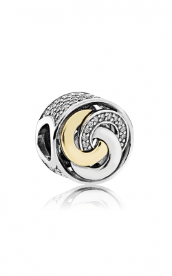 Pandora Interlinked Circles Charm Clear CZ 792090CZ product image