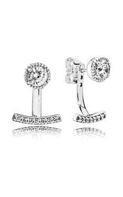 Pandora Abstract Elegance Clear CZ Earrings 290743CZ product image