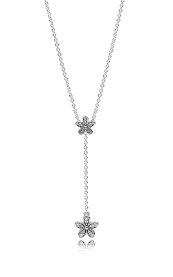 Pandora Dazzling Daisies Clear CZ Necklace 590540CZ-60 product image