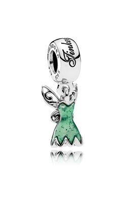 PANDORA Disney Tinker Bell's Dress Dangle Charm Glittering Green Enamel 792138EN93 product image
