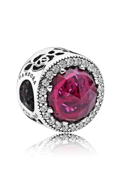 PANDORA Disney Belle's Radiant Rose Charm Cerise Crystals & Cubic Zirconia 792140NCC product image