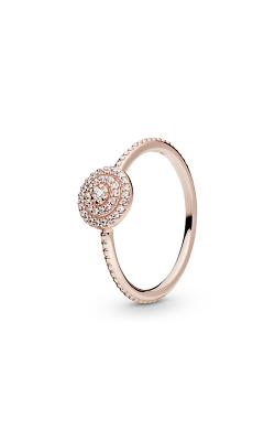 PANDORA Rose™ & Clear CZ, Radiant Elegance Ring 180986CZ-54 product image