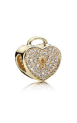 PANDORA Heart Lock Clear CZ Charm 750833CZ product image