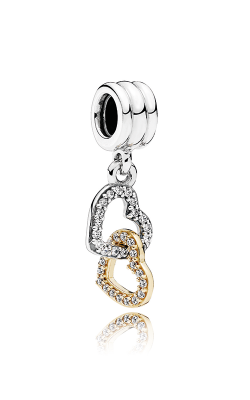 Pandora Interlocked Hearts Dangle Charm 792068CZ product image