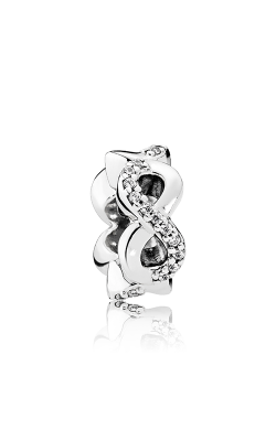 PANDORA Infinite Love Clear CZ Charm 792101CZ product image