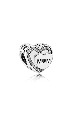 PANDORA Tribute to Mom Clear CZ Charm 792070CZ product image