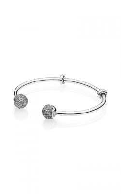 PANDORA Open Bangle Clear CZ 596438CZ-2 product image