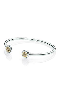PANDORA Signature Bangle Bracelet Clear CZ 596274CZ-1 (Retired) product image
