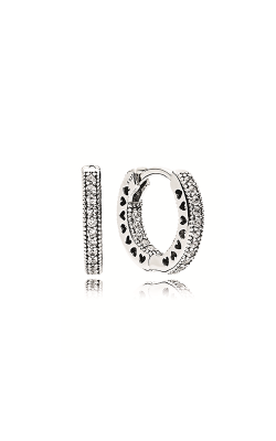 Pandora Hoop Earrings Clear CZ 296317CZ product image