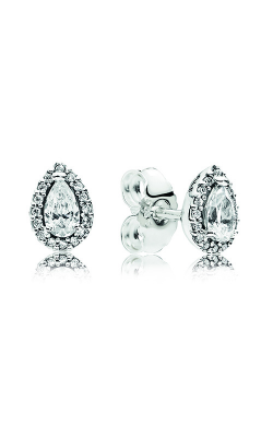 PANDORA Radiant Teardrops Stud Earrings Clear CZ 296252CZ product image