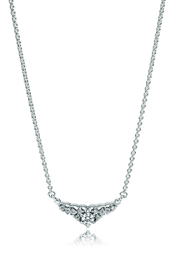 Pandora Fairytale Tiara Necklace Clear CZ 396227CZ-45 product image