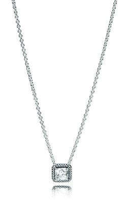 PANDORA Timeless Elegance Necklace Clear CZ 396241CZ-45 product image