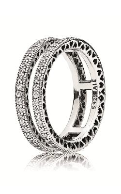 PANDORA Clear CZ Ring 196236CZ-52 product image