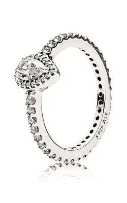 PANDORA Radiant Teardrop Ring Clear CZ 196254CZ-54 product image