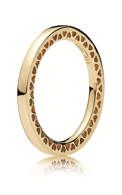 Pandora Classic Hearts Ring, 14K Gold 156238-48 product image