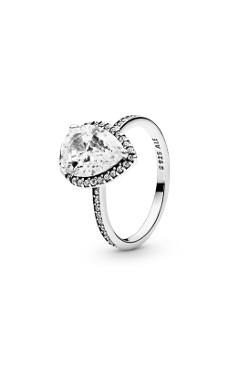 PANDORA Radiant Teardrop Ring Clear CZ 196251CZ-54 product image