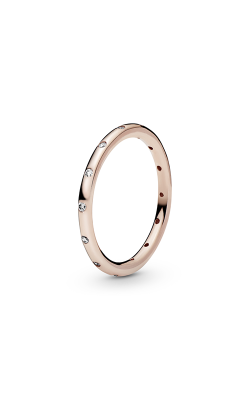 PANDORA Rose™ & Clear CZ, Droplets Ring 180945CZ-58 product image