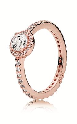 PANDORA Rose™ & Clear CZ, Classic Elegance Ring 180946CZ-54 product image