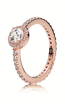 PANDORA Rose™ & Clear CZ, Classic Elegance Ring 180946CZ-58 product image