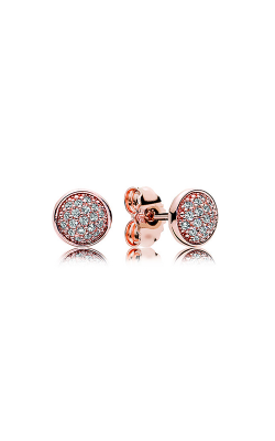 Pandora Rose™ & Clear CZ, Dazzling Droplets Stud Earrings 280726CZ product image