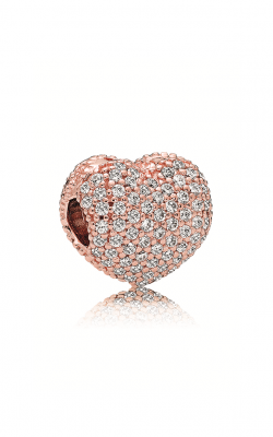 Pandora Rose™ Pave Open My Heart Clip Clear CZ 781427CZ product image