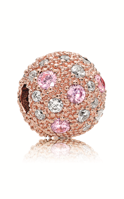 Pandora Rose™ Pink & Clear CZ Cosmic Stars Clip 781286PCZ product image