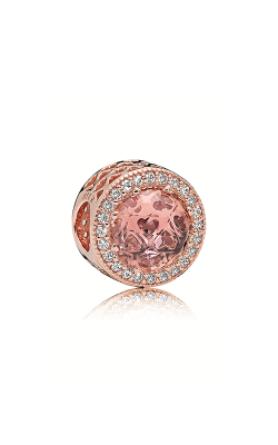 Pandora Rose™ Radiant Hearts Charm Blush Pink Crystal & Clear CZ  781725NBP product image