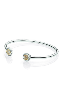 PANDORA Signature Bangle Bracelet Clear CZ 596274CZ-2 (Retired) product image