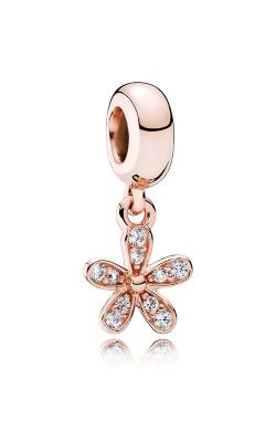 Pandora Rose™ & Clear CZ, Dazzling Daisies Dangle Charm 781491CZ product image