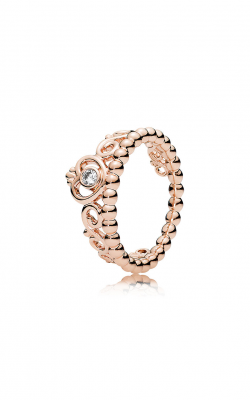 PANDORA Rose™ & Clear CZ, My Princess Tiara Ring 180880CZ-50 product image