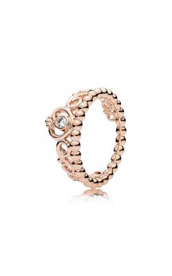 PANDORA Rose™ & Clear CZ, My Princess Tiara Ring 180880CZ-60 product image