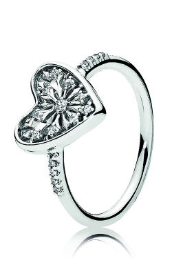 PANDORA Heart of Winter Ring, Clear CZ 196371CZ-54 (Retired) product image