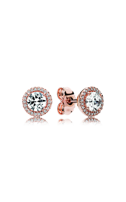 PANDORA Rose™ & Clear CZ, Classic Elegance Stud Earrings 286272CZ product image