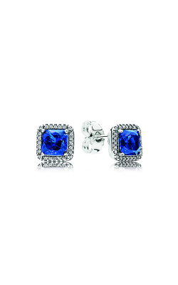 Pandora Timeless Elegance, True Blue Crystals & Clear CZ 290591NBT product image