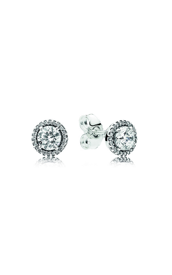 PANDORA Classic Elegance Stud Earrings, Clear CZ 296272CZ product image