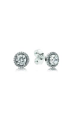 Pandora Classic Elegance Stud Earrings, Clear CZ 296272CZ product image